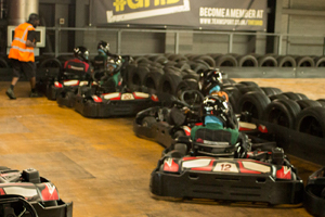 Go Karting With the Youth